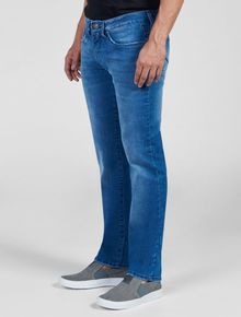 CALCA-JEANS-SLIM-STRAIGHT-CALVIN-KLEIN-JEANS-FIVE-POCKETS-AZUL-MEDIO
