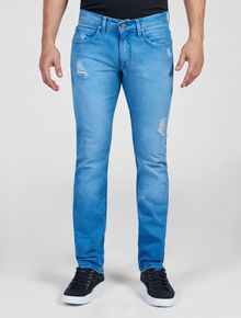 CALCA-JEANS-CALVIN-KLEIN-JEANS-FIVE-POCKETS-SUPER-SKINNY-AZUL-MEDIO