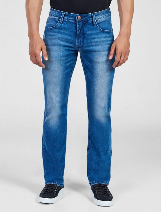 CALCA-JEANS-CALVIN-KLEIN-JEANS-FIVE-POCKETS-SLIM-STRAIGHT-AZUL-MEDIO
