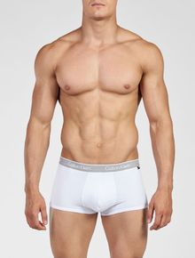 KIT-2-CUECAS-CALVIN-KLEIN-UNDERWEAR-LOW-RISE-TRUNK-CK-ONE-COTTO-BRANCA