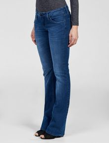 CALCA-JEANS-CALVIN-KLEIN-JEANS-FIVE-POCKETS-STRETCH-SLIM-FLARE-MARINHO
