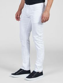CALCA-CALVIN-KLEIN-JEANS-COORDENADO-POWER-STRETCH-BRANCO