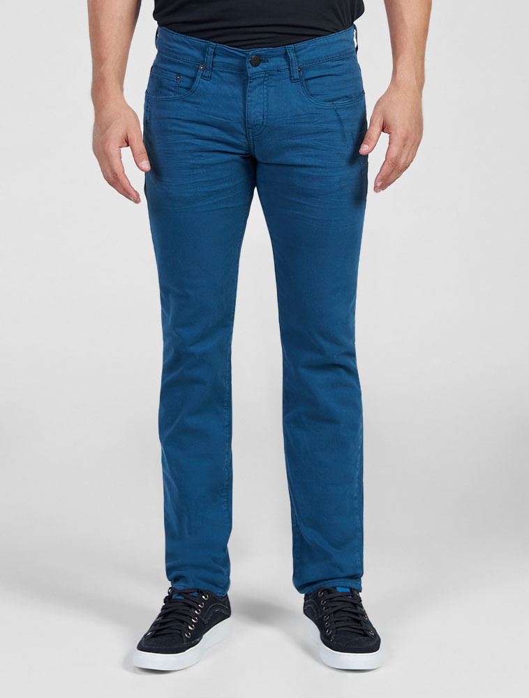 Calu00e7a Color Calvin Klein Jeans Five Pockets Skinny Petru00f3leo | Outlet - Calvin Klein