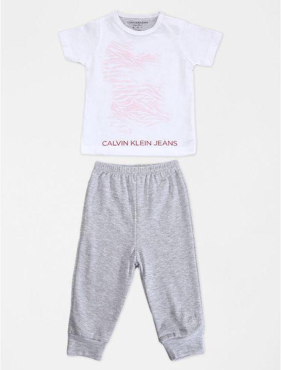 KIT-INFANTIL-CALVIN-KLEIN-JEANS-BLUSA-E-CALCA-BRANCO
