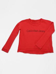 MOLETOM-INFANTIL-CALVIN-KLEIN-JEANS-VERMELHO