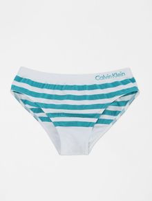 KIT-2-CALCINHAS-INFANTIL-CALVIN-KLEIN-UNDERWEAR-BONECA-VERDE