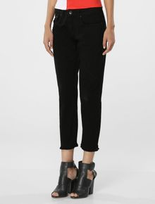 CALCA-COLOR-CALVIN-KLEIN-JEANS-FIVE-POCKETS-GIRLFRIEND-PRETO