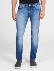 CALCA-CALVIN-KLEIN-JEANS-FIVE-POCKETS-SKINNY-AZUL-MEDIO