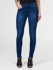 CALCA-CALVIN-KLEIN-JEANS-FIVE-POCKETS-JEGGING-HIGH-ESCURO