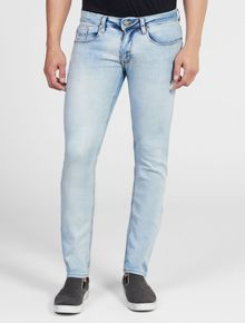 CALCA-CALVIN-KLEIN-JEANS-FIVE-POCKETS-SUPER-SKINNY-CLARO