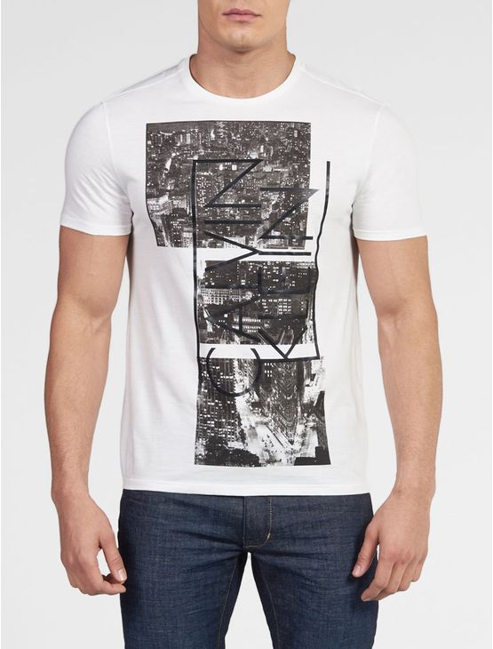 CAMISETA-CALVIN-KLEIN-SLIM-COM-ESTAMPA-CITY-BRANCO
