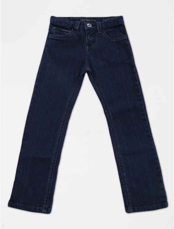 CALCA-INFANTIL-CALVIN-KLEIN-JEANS-FIVE-POCKETS-STRAIGHT-MARINHO