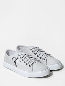 TENIS-CALVIN-KLEIN-JEANS-CANO-BAIXO-RE-ISSUE-LOGO-LEATHER-OFF-WHITE