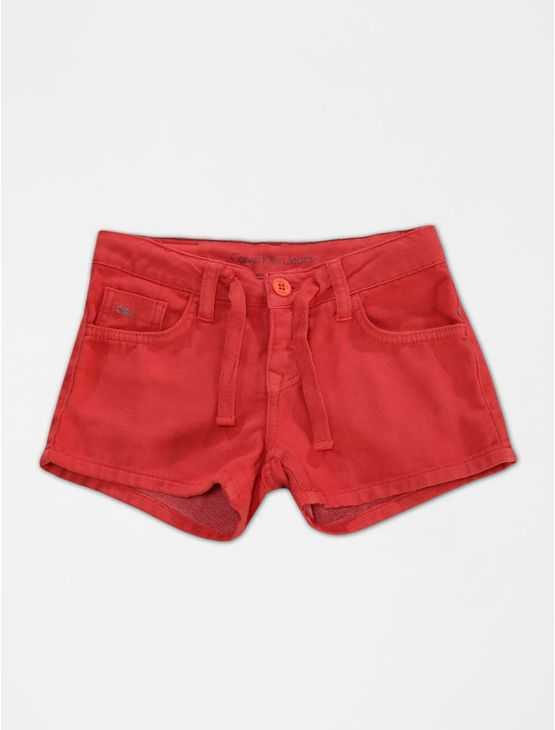 SHORTS-INFANTIL-CALVIN-KLEIN-JEANS-COLOR-FIVE-POCKETS-LARANJA-FLUOR