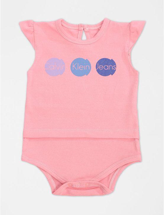 BODY-INFANTIL-CALVIN-KLEIN-JEANS-GOTA-PESSEGO