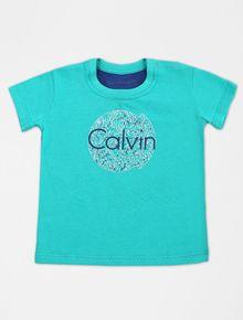 CAMISETA-INFANTIL-CALVIN-KLEIN-JEANS-CALVINS-VERDE