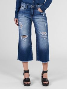 CALCA-CALVIN-KLEIN-JEANS-FIVE-POCKETS-CULOTTE-AZUL-MEDIO