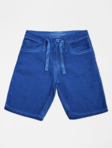 BERMUDA-CALVIN-KLEIN-JEANS-COLOR-INFANTIL-FIVE-POCKETS-AZUL-MEDIO