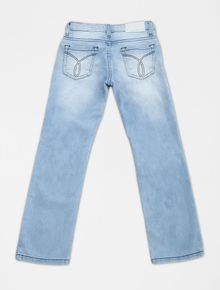 CALCA-INFANTIL-CALVIN-KLEIN-JEANS-FIVE-POCKETS-STRAIGHT-AZUL-MEDIO