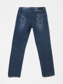 CALCA-INFANTIL-CALVIN-KLEIN-JEANS-FIVE-POCKETS-JEGGING-AZUL-MEDIO