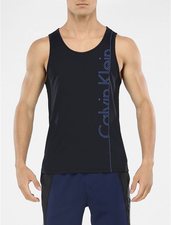 REGATA-CALVIN-KLEIN-ATHLETIC-ESTAMPA-FRONTAL-PRETO