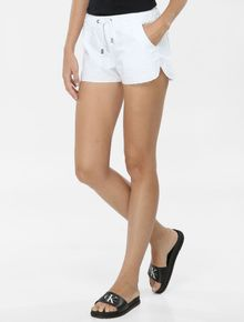 SHORTS-COLOR-CALVIN-KLEIN-JEANS-COM-ELASTICO-NO-COS-BRANCO
