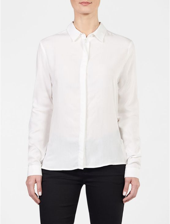 Camisa-Calvin-Klein-Jeans-Abertura-Costas-Off-White