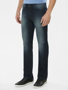 CALCA-CALVIN-KLEIN-JEANS-FIVE-POCKETS-STRAIGHT-MARINHO