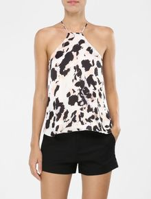 TOP-CALVIN-KLEIN-ESTAMPA-ANIMAL-PRINT-NUDE