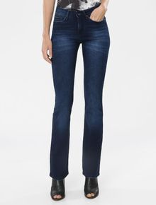 CALCA-CALVIN-KLEIN-JEANS-FIVE-POCKETS-SLIM-FLARE-MARINHO
