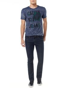 CALCA-CALVIN-KLEIN-JEANS-FIVE-POCKETS-STRAIGHT-BLUE-BLACK