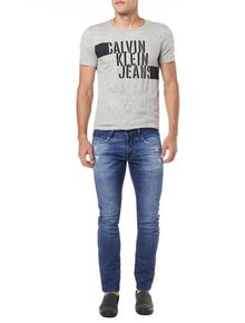 CALCA-CALVIN-KLEIN-JEANS-SKINNY-FIVE-POCKETS-AZUL-MEDIO