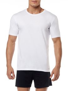 KIT-2-CAMISETAS-CALVIN-KLEIN-UNDERWEAR-DE-COTTON-GOLA-CARECA-BRANCO
