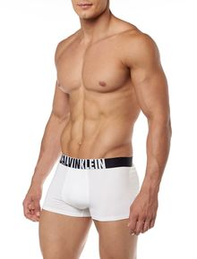 CUECA-LOW-RISE-TRUNK-CALVIN-KLEIN-UNDERWEAR-COTTON-ID-FASHION-BRANCO