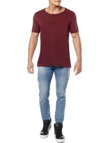 CAMISETA-CALVIN-KLEIN-JEANS-LOGO-NEW-YORK-BORDO