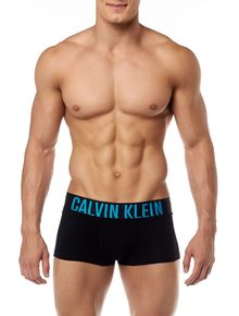 CUECA-TRUNK-POWER-CALVIN-KLEIN-UNDERWEAR-COTTON-PRETO