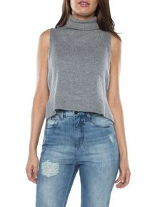 TRICOT-CALVIN-KLEIN-JEANS-ZIPERES-LATERAIS-NUDE