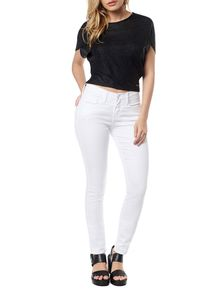 CALCA-JEGGING-CALVIN-KLEIN-JEANS-COORDENADO-POWER-STRETCH-BRANCO