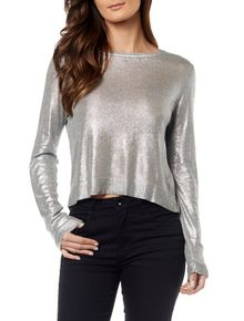 TRICOT-CALVIN-KLEIN-JEANS-FOIL-LIGHT-GREY
