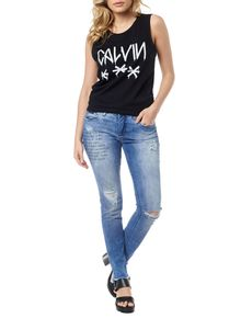 CALCA-CALVIN-KLEIN-JEANS-FIVE-POCKETS-SP-SKINNY-HIGH-AZUL-MEDIO