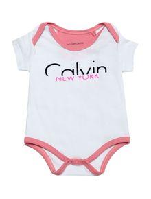 BODY-INFANTIL-CALVIN-KLEIN-JEANS-COM-LOGO-BRANCO