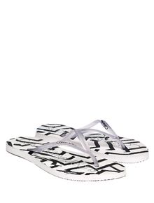 CHINELO-CALVIN-KLEIN-SWIMWEAR-GEOMETRIC-STRIPE-BRANCO