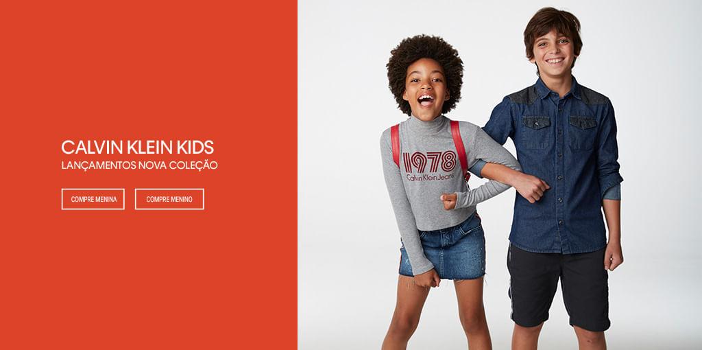 3c3e84a19376e Roupa Infantil  Moda Infantil para Menino e Menina - Calvin Klein