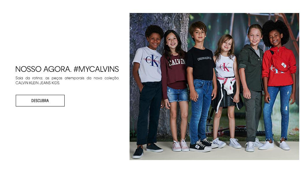 decfcb7343b24 Roupa Infantil  Moda Infantil para Menino e Menina - Calvin Klein