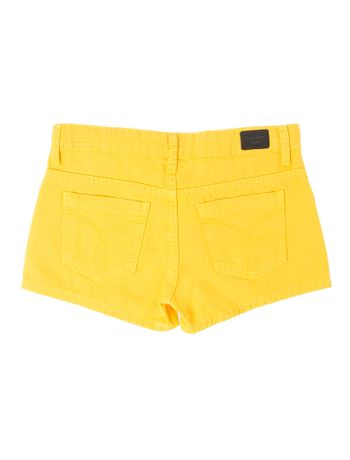 SHORTS-SAIA-COLOR-CALVIN-KLEIN-JEANS-FIVE-POCKETS-AMARELO-CLARO
