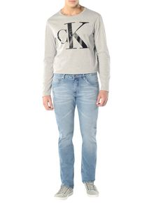 CALCA-CALVIN-KLEIN-JEANS-FIVE-POCKETS-RELAXED-STRAIGHT.-AZUL-CLARO