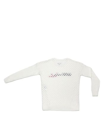 SUETER-CALVIN-KLEIN-JEANS-JACQUARD-OFF-WHITE