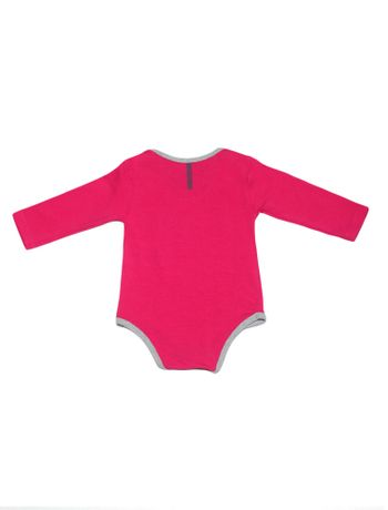 BODY-INFANTIL-CALVIN-KLEIN-JEANS-LOGO-ROSA-ESCURO