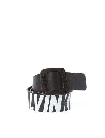Cinto-Infantil-Calvin-Klein-Jeans-Estampa-Logo-Bold-Racer-Preto