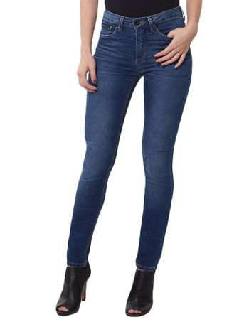 CALCA-CALVIN-KLEIN-JEANS-FIVE-POCKETS-AZUL-MEDIO